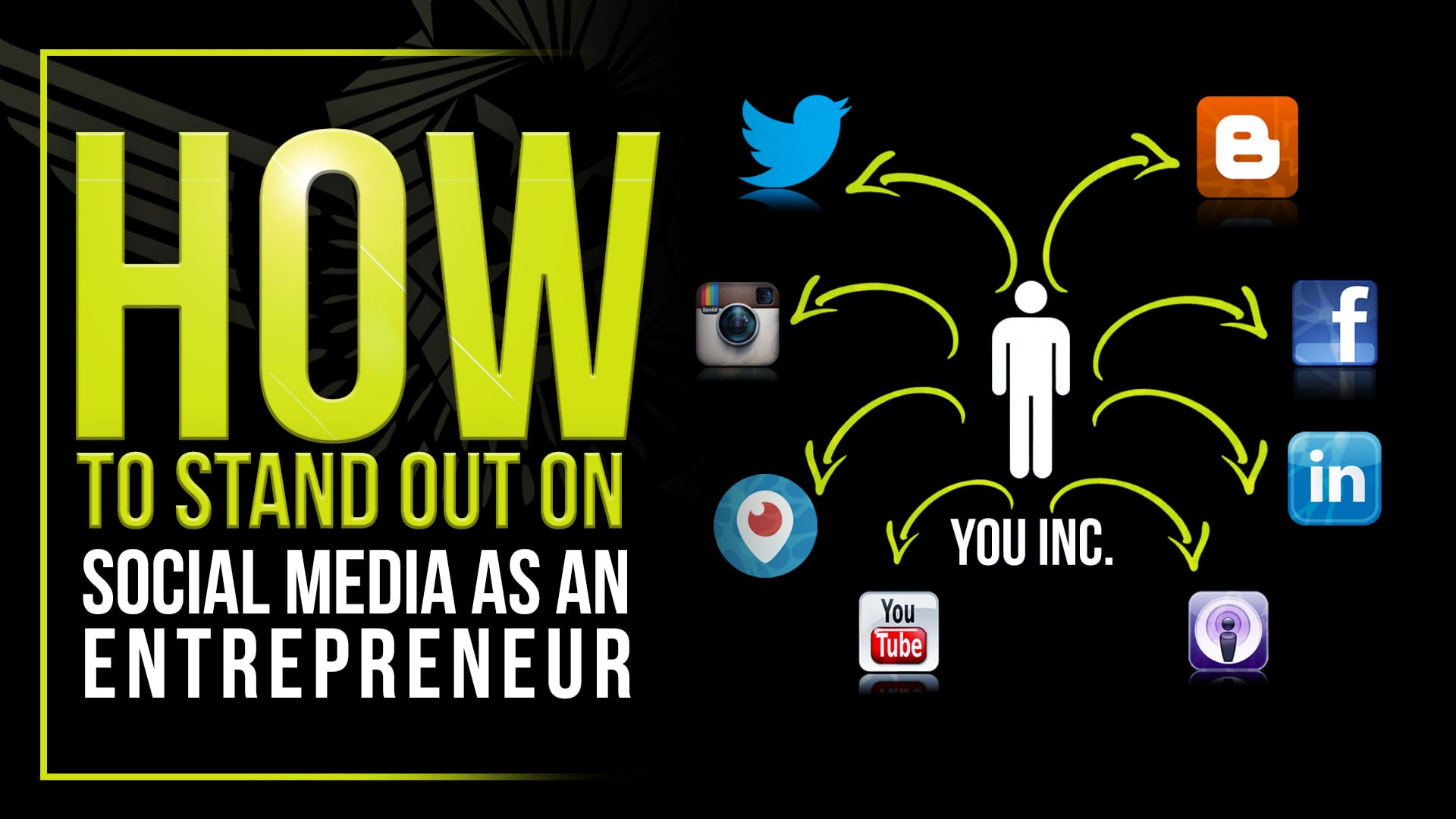 How to stand out on social media as an entrepreneur patrick bet david fandeluxe Choice Image
