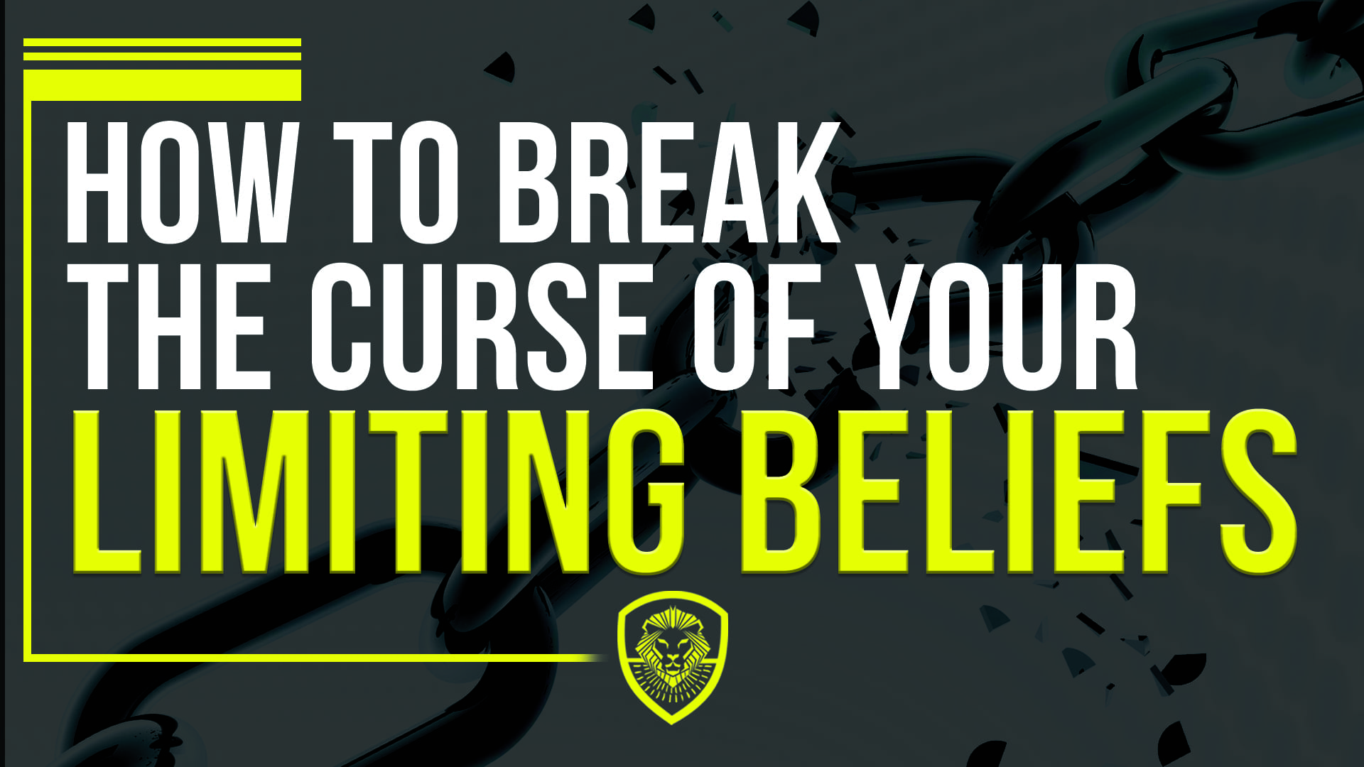 How To Break the Curse of Your Limiting Beliefs - Patrick